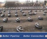Accessorio per tubi di Uns N06625 della lega di nichel di ASTM B336 Wpncmc 625 T del gomito da 90 gradi