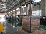 La agricultura cine / películas estirables PE PP lavado máquina de reciclaje de plástico