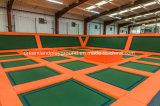 Las instalaciones de recreación infantil Dreamland arrojar tipo rectángulo trampolín para la venta