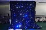 2018熱い販売の耐火性の結婚式LEDの星のカーテンLEDの背景幕