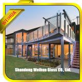 Verre feuilleté clair/coloré de sablage avec CE/ISO9001/CCC