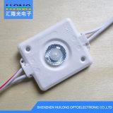 Габаритного света высокой мощности 3 Вт Водонепроницаемый светодиодный модуль 1 светодиодный фонарь освещения рекламы