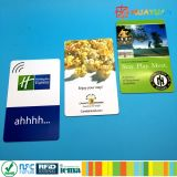 장거리 ISO18000-6C EPC Gen2 수동적인 Monzar6 PVC UHF 카드