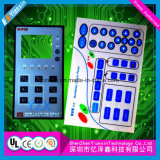Командный выключатель мембраны Multi-Color печатание цепи электрический с поли куполом
