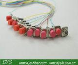 Pigtail da fibra da manutenção programada do PC 2.0mm de FC