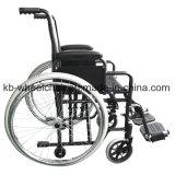 Desbloquear rápido, pequeña rueda, sillón de ruedas manual de acero Kbw871h