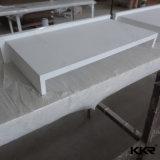 Prefab impermeável de mármore branco Branco Puro Superfície sólida bancada