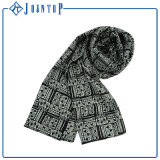 La mode de cadeau de Noël chaude Shinny l'écharpe carrée de satin