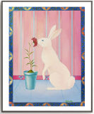 Het abstracte Schilderen van de Kunst met het Houten Frame van de Douane voor de Zaal van Kinderen