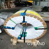 201 304 2b Rol/Stroken die van de Strook van de Precisie van het Roestvrij staal Band vastbinden