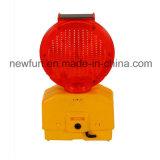 Barrikade-Licht-Fabrik-Preis des bernsteinfarbigen Blinker-Solar-LED