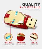 Nuevo USB Pendrive del mecanismo impulsor del flash de la memoria del USB del hombre del hierro del diseño