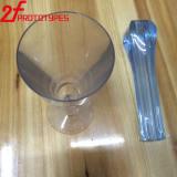 Plastic Transparante Duidelijke hoog Opgepoetste AcrylABS POM die PMMA AcrylCNC van de Delen van PMMA Plastic CNC Plastic OEM van Delen machinaal bewerken gluren het Plastiek van de Douane van de Hoge Precisie