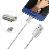 cavo magnetico del USB della trasmissione di 2in1 Charging&Data per il telefono