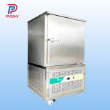 Choque criogénicos IQF Máquina de camarão de Congelamento