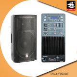 15 Spreker pS-4315cbt van Bluetooth van de FM van de duim de PRO180W USB BR Plastic Actieve