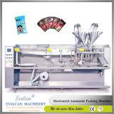 自動粉の双生児リンク小さい磨き粉袋のパッキング機械