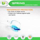卸し売りEcoテリーの低刺激性の防水マットレスの保護装置によって合われるマットレスの保護装置