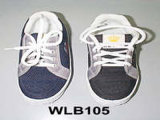 Jeans-Tuch-Schuhe