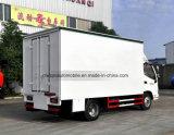 Foton 30m2 확장 가능한 단계 차량 6 바퀴 야외 무대 실행 트럭