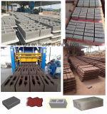 Bloco oco concreto do tijolo do cimento automático que dá forma à máquina de fatura de tijolo da máquina