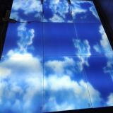 Design exclusivo de costura Framelss Non-Trace LED Luz do Painel