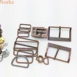 Accessoires de sac de mode de boucle de courroie en métal d'alliage