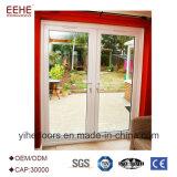 El aluminio 12mm de diseño de la puerta de vidrio endurecido Puerta