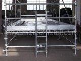 Scaletta d'acciaio di HDG per l'impalcatura della serratura della tazza