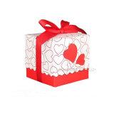 Les boîtes-cadeau de papier fabriqué à la main de forme de coeur vendent en gros