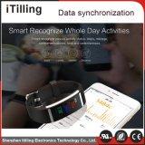 Il fornitore misura 2 il braccialetto astuto di vibrazione dell'inseguitore di attività di Bluetooth 4.0 di forma fisica