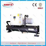 Refrigerador de refrigeração do parafuso do condicionador de ar água comercial
