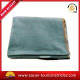 면 니트 담요, 최고 가격 항공 담요가 고품질에 의하여 공상 길쌈한다
