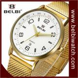 Orologio del regalo degli uomini del visualizzatore analogico di numero di affari di Belbi