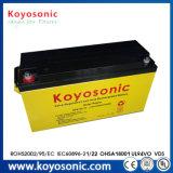 batterie de cinq ans de système solaire de la batterie solaire 48V de la batterie solaire 150ah de la garantie 24V