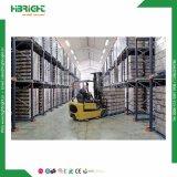 O equipamento de armazenamento Industrial para Serviço Pesado do sistema de acionamento em Drive-Thru Palete
