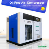 Ce, l'ISO, TUV approuvé Oil Free Air rotatifs à vis du compresseur avec Ghh Fin de l'air
