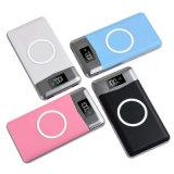 2 ports USB 20000mAh Qi chargeur sans fil 5W Pad Banque d'alimentation