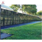 Barricada de aluminio el control de multitudes Barrera metálica