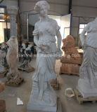 Godness van de Vier Marmeren Beeldhouwwerken van de Vrouw van Seizoenen
