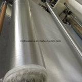 Ткань стеклоткани теплоизолирующих материалов прокатанная алюминиевой фольгой
