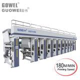 Computergesteuerte 8 Farben-Gravüre Prining Maschine 180 M/Min