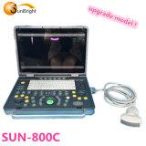 2D portátil más barato en fábrica Ecógrafo Sol-800c con el precio más barato