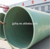 Tubo químico de la transferencia del tubo del diámetro grande de la fibra de vidrio