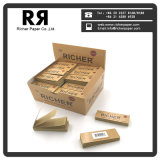 Cigarettes Rolling Papers avec filtres/tips/cafards 20*50mm