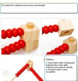Intelligent Development Maths DIY Wooden Bead Refines Preschool Educational Toy