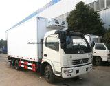 Dongfeng 6 van de Ijskast van het Voertuig van Rhd Ton van de Vrachtwagen van de Koude Opslag