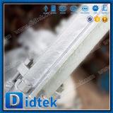 Valvola a saracinesca di Didtek API6d Wcb con l'azionatore elettrico