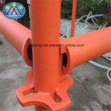 Sistema rápido tubular chinês do andaime do estágio do fechamento de Selflock do fornecedor da empresa de construção civil
