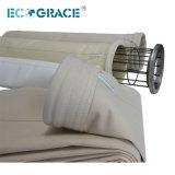La poussière retirant les sachets filtre PPS/Nomex/PTFE/medias filtrage de fibre de verre